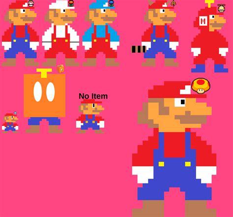 New 8 Bit Mario Power Ups By Cooldude4342135 On Newgrounds