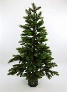 Tannenbaum Im Topf : wald tannenbaum deluxe 90cm da k nstlicher weihnachtsbaum spritzguss kunststoff ebay ~ Frokenaadalensverden.com Haus und Dekorationen