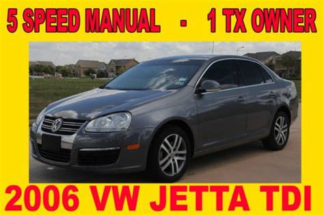 old cars and repair manuals free 2006 volkswagen new beetle electronic valve timing purchase used 2006 vw jetta tdi diesel 5 speed manual clean title in houston texas united
