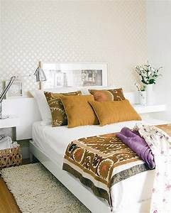 belle decoration a la maison avec le tapis shaggy blanc With tapis chambre bébé avec housse de couette à fleurs