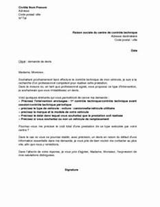 Controle Technique Pour Vente Voiture : lettre de demande de devis un centre de contr le technique mod le de lettre gratuit exemple ~ Gottalentnigeria.com Avis de Voitures