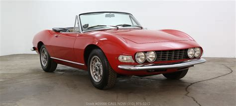 1968 Fiat Spider by 1968 Fiat Dino Spider Beverly Car Club