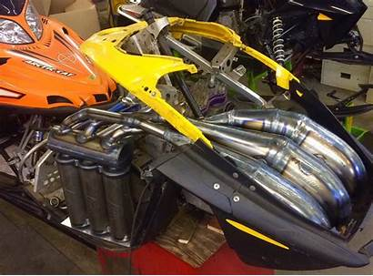 Pipes Rev Triple Chassis Jaws Doo Ski