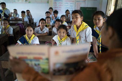 education unicef cambodia