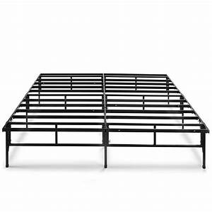 Platform Bed Frame    Box Spring Replacement  Queen