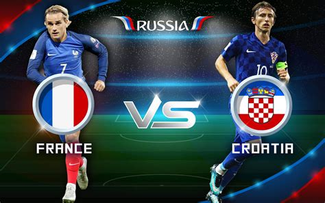 World Cup Final France Croatia Predictions