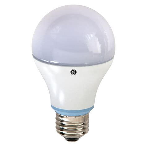 home depot led lights ge 60w equivalent reveal 2850k a19 dimmable led light