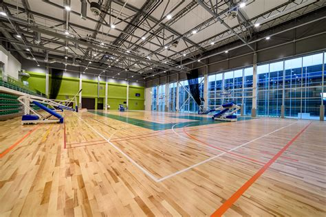 Universālā sporta zāle » Olimpiskais centrs Rēzekne