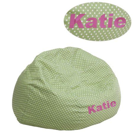 personalized kids bean bag chair multiple colors