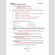 Worksheet On Calculating Acceleration  Geotwitter Kids Activities