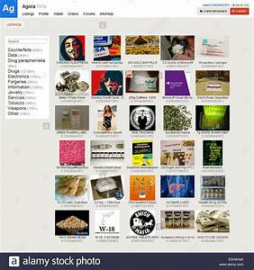 Agora Marketplace for illicit goods (drugs, counterfeits ...