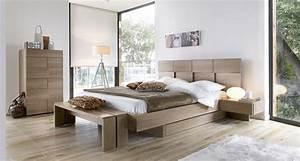 Chambre à Coucher Adulte : chambre a coucher gautier mervent chambres adultes le geant du meuble ~ Teatrodelosmanantiales.com Idées de Décoration