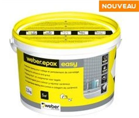 joint epoxy pour carrelage joint carrelage poxy weber epox easy pour carrelage et p 226 te de verre weber colles carrelage et