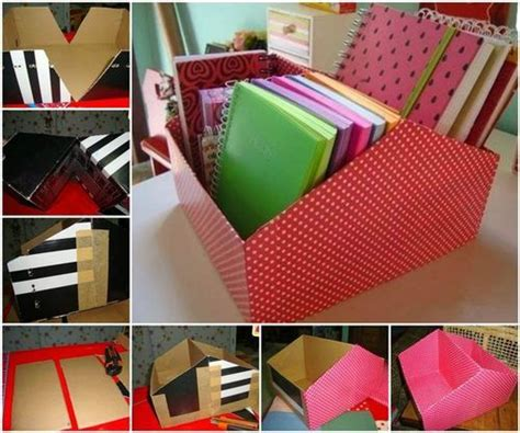 diy easy shoe box organizer shoe box crafts diy
