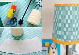 Lampenschirm Basteln Anleitung Lampenschirm In Kegelform Aus Papier