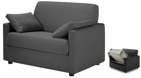 bureau console extensible 2 en 1 fauteuil lit tissu gris anthracite fauteuil convertible