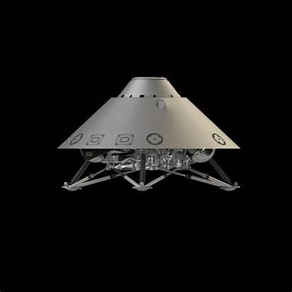 Landing Mars Nasa Gear Insight Entry Descent