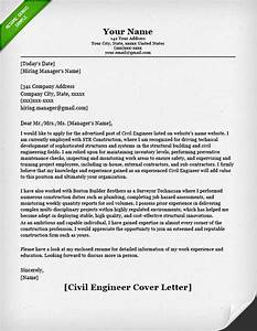 Civil Engineering Resume Example Engineering Cover Letter Templates Resume Genius