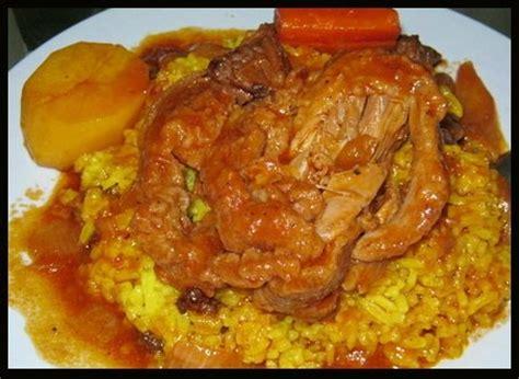 cuisine sud africaine recette du riz jaune recettes africaines