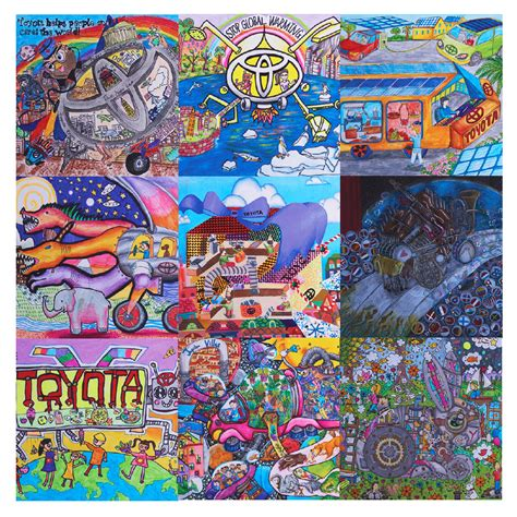 winners  toyota dream car art contest announced