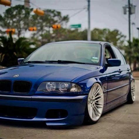 bmw e46 3 series blue slammed bmw ultimate driving machine bmw bmw e46 sedan bmw 325