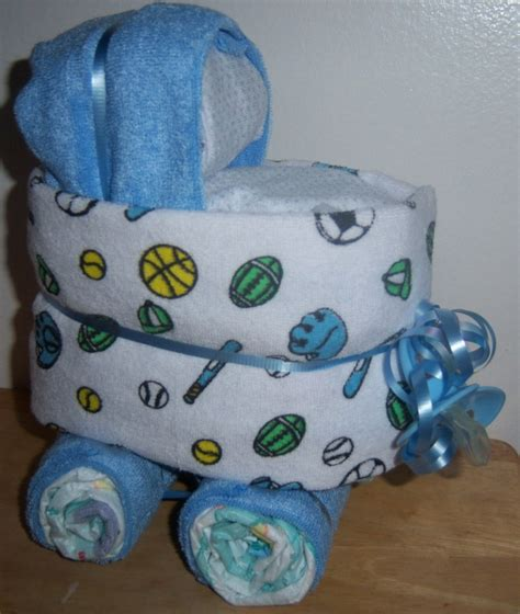 DINOSAUR DIAPER CAKE INSTRUCTIONS diaper cake