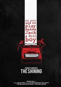 The Shining - Minimalist Movie Poster | Zoetrope | Pinterest