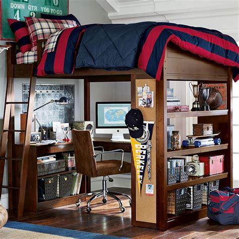 boys loft bed with desk 10 best loft beds with desk designs decoholic