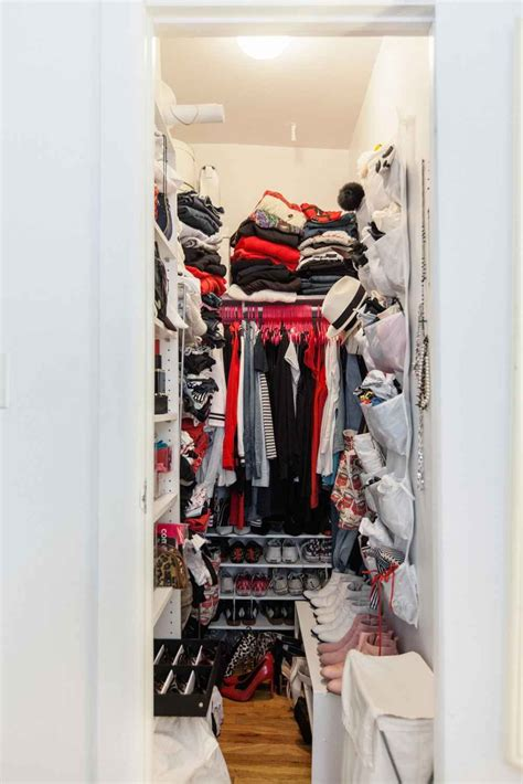 Closet Organization Ideas Tiny Closets by How To Organize Your Crowded Closet In 2019