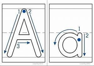 playdough mats alphabet with correct letter formation by With playdough letter mats