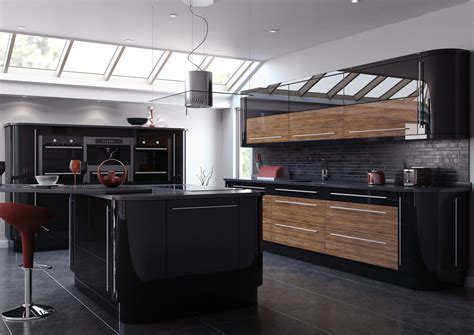 high cabinet kitchen high gloss kitchen cabinets inspiration and design ideas 1637
