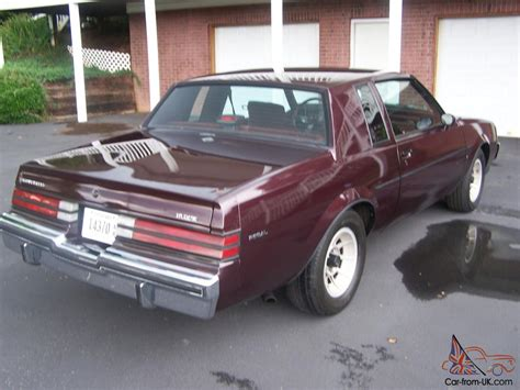 1987 Buick Regal Turbo by 1987 Buick Regal Turbo T One Owner All Original