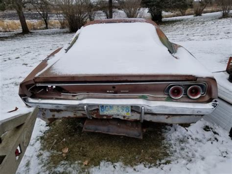 1968 DODGE CHARGER PROJECT NUMBERS MATCHING BIG BLOCK 383