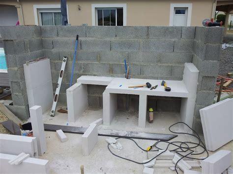 cuisine construction cuisine construction d 39 un barbecue sur mesure terrasse