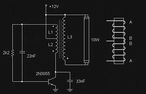 Rangkaian Lampu Neon  Tl  12 Volt