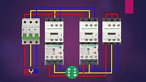Star Delta Starter Power Circuit Wiring Diagram