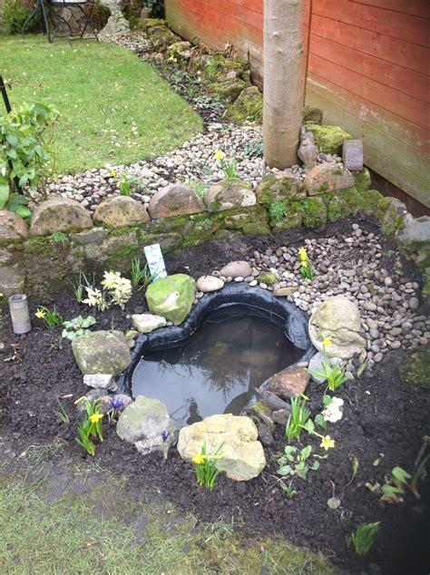 how to make a small garden pond small wildlife pond forum gardenersworld com