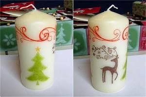 Kerzen Verzieren Weihnachten : eri 39 s kreativwerkstatt kerzen verzieren mit der serviettentechnik und stampin 39 up ~ Eleganceandgraceweddings.com Haus und Dekorationen