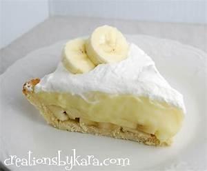 Banana Cream Pie - Creations by Kara