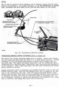 Kickdown Adjustements On  U0026quot Cast Iron U0026quot  Torqueflite