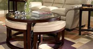 coffee cocktail tables with stool seating underneath With coffee table with seats underneath
