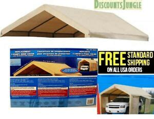 roof cover top replacement  costco carport canopy shelter canvas     ebay