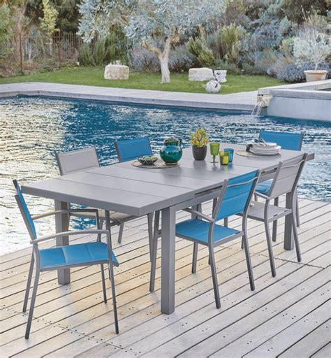 chaises carrefour stunning table de jardin avec banc carrefour pictures