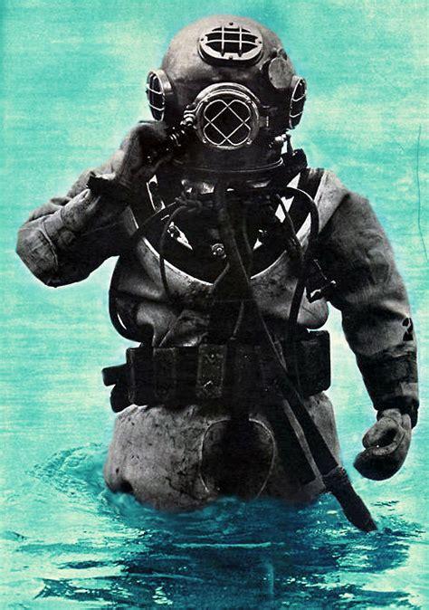 vintage diving suit tumblr