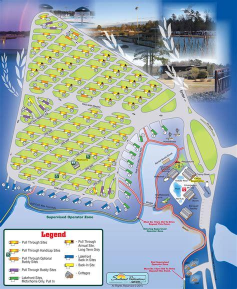 Resort Site Map  Willowtree Rv Resort & Campground