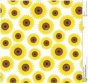 Vintage Sunflowers Background