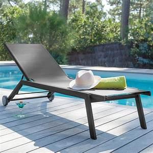 Bain De Soleil Gris : bain de soleil florence aluminium textil ne gris gamm vert ~ Dode.kayakingforconservation.com Idées de Décoration
