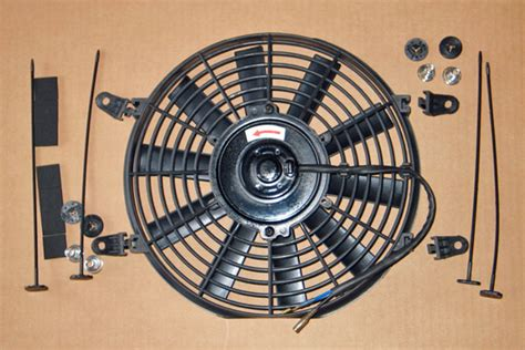 electric radiator fan kit great british cars 12 quot electric fan kit mg