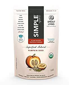 Amazon.com: Sprout Living Pumpkin Seed Protein Powder, 1