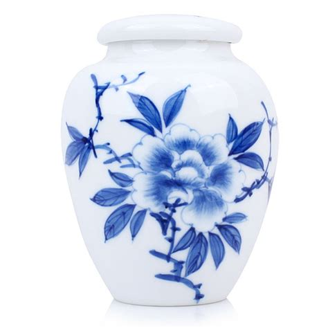blue and white china l blue and white porcelain caddy peony esgreen enjoy slow